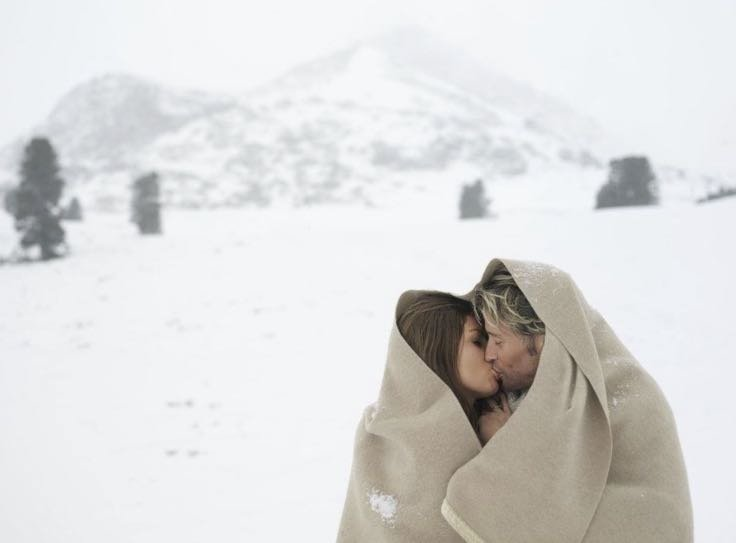 To keep warm in the cold: top 6 sex poses for a cold winter