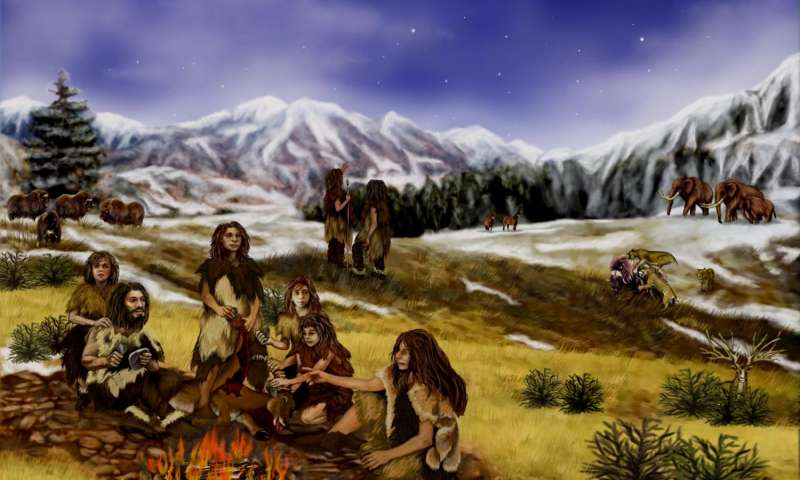 The first sex between different species of human ancestors occurred 700 thousand years ago